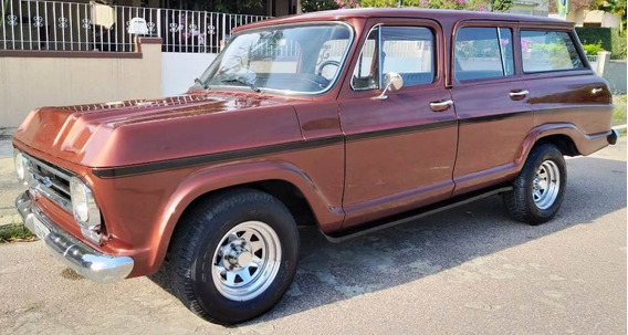 Chevrolet Veraneio 1979 Reformada Em Dia