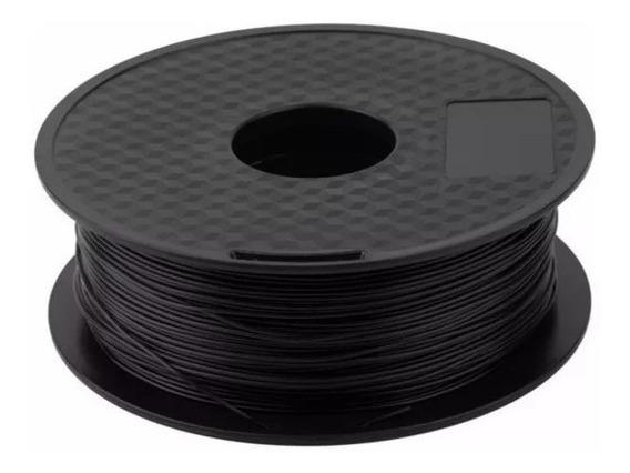 Filamento Pla Preto 1.75mm 1kg Para Impressora 3d