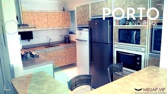 Residencial Porto Panorama - Apartamento Para Venda Em Santos - Vb029 - 68298476