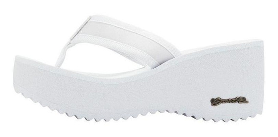Sandália Barth Hibisco - Branco