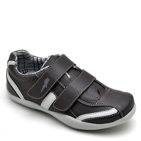 Sapatenis Sapato Masculino Infantil Com Tiras