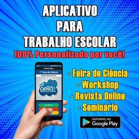 Aplicativo Android Para Trabalho Escolar E Faculdade!