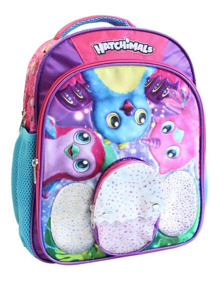 Ruz - Tycoon Hatchimals Mochila Kinder Escolar Infantil