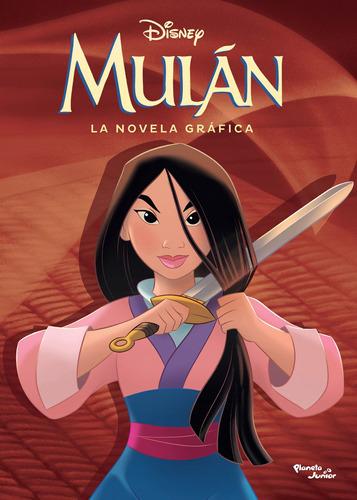 Imagen 1 de 3 de Mulán. La Novela Gráfica De Disney- Planeta Junior