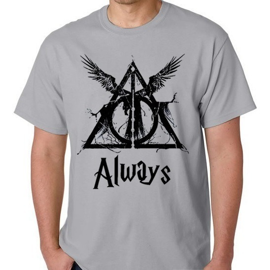Camiseta Camisa Blusa Masculino Feminino Harry Potter Always
