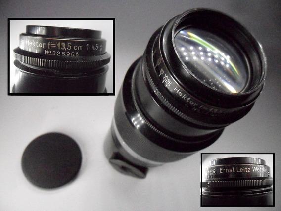 Leica Leitz * Lente Hektor 135mm F4,5 * Rosca * Cx14