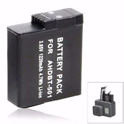 Bateria Recarregável Extra Go Pro 5 6 Black