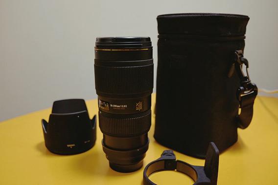 Lente Sigma (para Nikon) 70-200mm F/2.8 Apo Dg Made In Japan