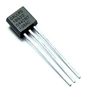 06x Sensor De Temperatura Ci Ds18b20 18b20 Original Dallas