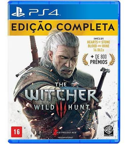 Game The Witcher 3 Playstation 4 Ps4 Lacrado