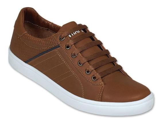 Calzado Zapato Tenis Sneakers Hombre Caballero Moda Comodo