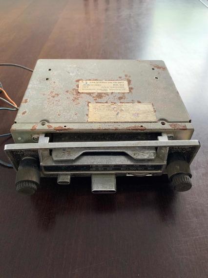 Rádio Toca Fita Car Stereo Am/fm Mpx Rx-77 Mitsubishi Antigo