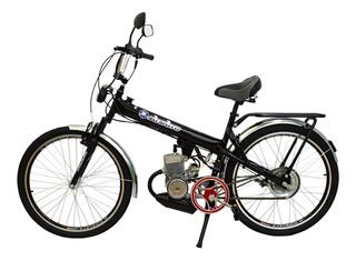 Bicicleta Motorizada Moskito Motor 60cc Mobylete