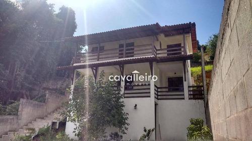 Casa Duplex Em Condomínio No Centro De Maricá - Ca2393