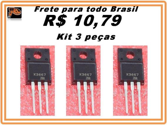 K3667 -2sk3667 Fet Transistor 100% Original Kit 3 Peças