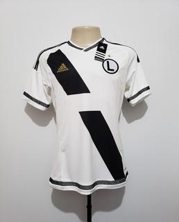 Camisa Futebol Légia Varsóvia Polônia 2015 Home adidas Tam P