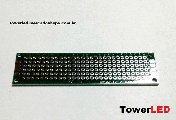 Pci Protoboard Universal Dupla Face 2cmx8cm - 10 Unidades
