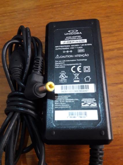 Carregador Notebook Uf-65w2p (19.0)2b2 19v.3,42a. Novo!!!