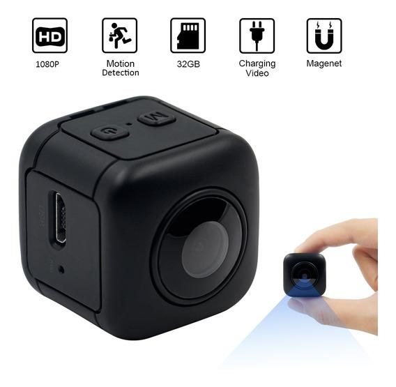 Mini 1080 P Portátil Pequena Câmera De Segurança Com