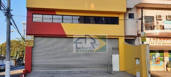 Salão Para Alugar, 355 M² Por R$ 6.500,00/mês - Centro - Suzano/sp - Sl0088
