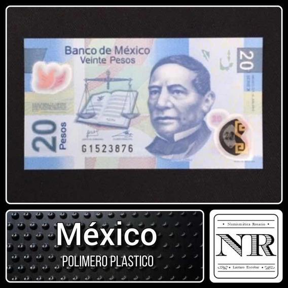 Mexico - 20 Pesos - Año 2013 - P # 122 - Plastico