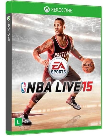 Nba Live 15 / 2015 - Jogo De Basquete / Basket - Midia Fisica Original E Lacrado - Xbox One