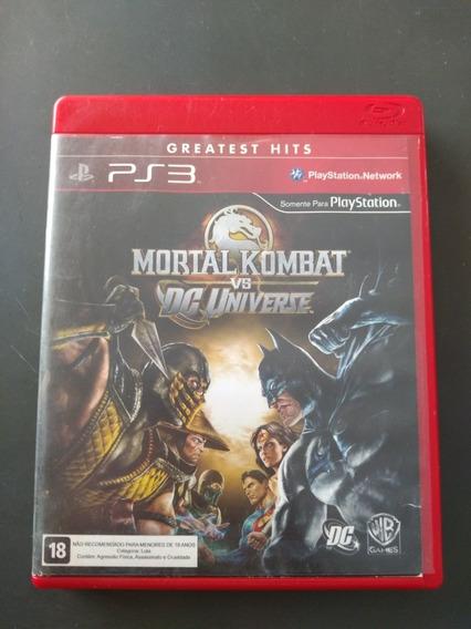 Jogo Mortal Kombat X Dc Universe Ps3 Mídia Física