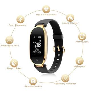 Relógio Bluetooth S3 Inteligente Feminino Smartwatch Moda Feminina
