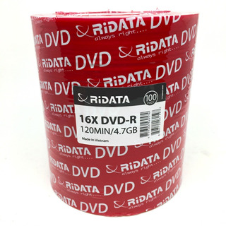 100 Dvd Ridata Virgen 4.7 Gb 16x Facturado Precio Neto Full