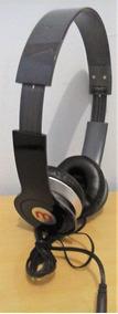 Fone De Ouvido Stereo Mex Headphone Hd Dobrável Preto