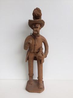 Escultura Em Cerâmica De Ednaldo Caruaru Pernambuco