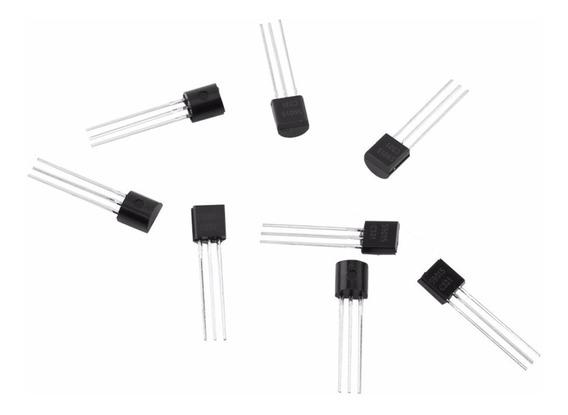 Kit De Transistores To-92 75 Peças 15 Modelos