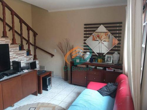 Sobrado Com 2 Dormitórios À Venda, 69 M² Por R$ 300.000,00 - Cidade Patriarca - São Paulo/sp - So0630