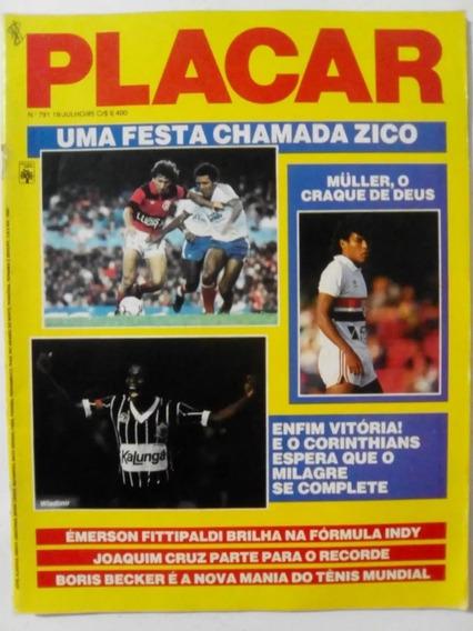 Revista Placar - Lote Com 85 Revistas(anos 83/84/85/86/87)