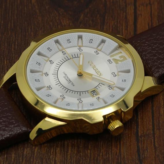 Relógio Quartz Maculino Curren, Produto Novo, Excelente.