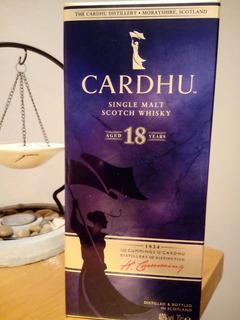 Super Oferta !!!!! Whisky Cardhu 18 Años