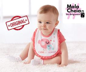 Kit Bebê Menina 19 Pçs Gerber Original Direto Do Eua