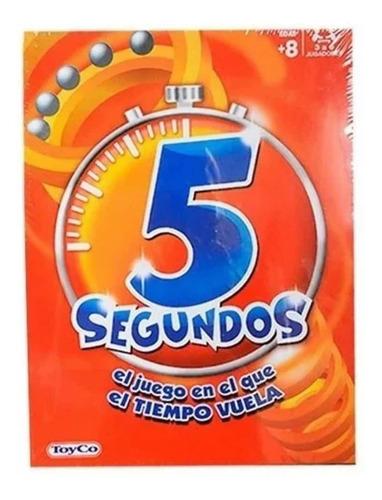 Imagen 1 de 3 de 5 Segundos Juego De Mesa Toyco