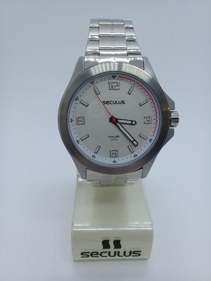 Relógio Seculus Masculino 20579gosvna2