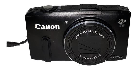 Câmera Fotográfica Canon Sx280hs Para Retirada De Peças