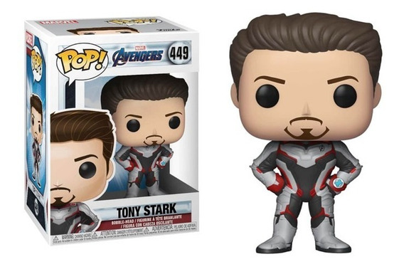 Funko Pop Iron Man Avengers Endgame Tony Stark 449 Marvel