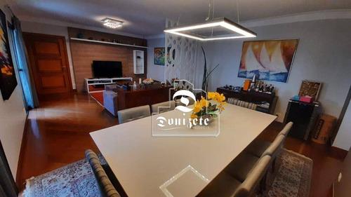 Apartamento À Venda, 186 M² Por R$ 1.098.000,00 - Jardim Bela Vista - Santo André/sp - Ap16176