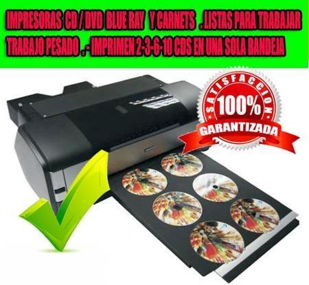 Impresora Epson Imprime 3 Cds X Minuto .2500 Cds Diarios