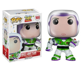 Funko Pop Disney Toy Story Boneco Buzz Lightyear #169