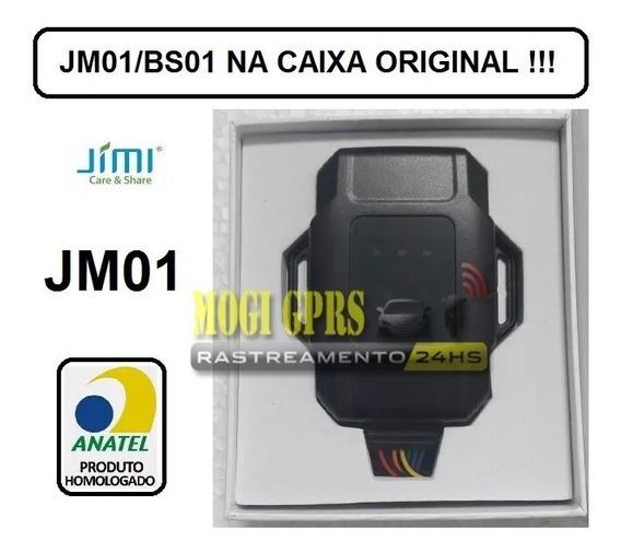 Rastreador E Bloqueador Gps Jimi/jm01, Aparelho Novo Com Nf.