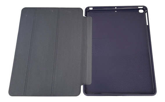 Capa Smart Case Couro Borracha iPad New 2017 2018 Slim Novo A1822 A1823