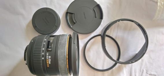 Lente Sigma 10-20mm F/4-5.6 Ex Dc Hsm Para Nikon