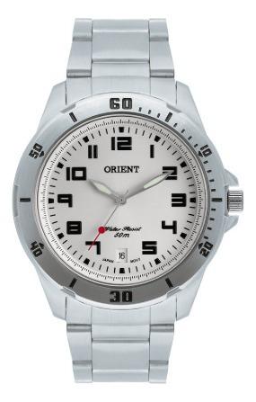 Relógio Orient Masculino Mbss1155a S2sx Prata
