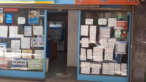 Vende Loteria  Nacional Op/ Kiosco/rapipago/- Palermo- Oport