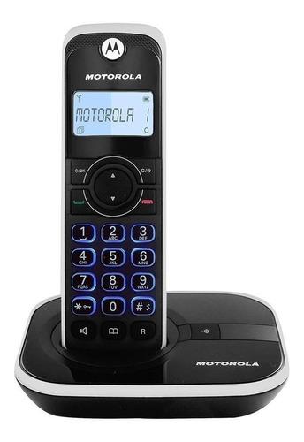 Imagen 1 de 4 de Teléfono inalámbrico Motorola GATE4500-3 negro